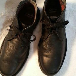 Men's Clark's Black Boots